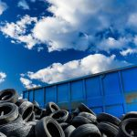 recycling of tires in California