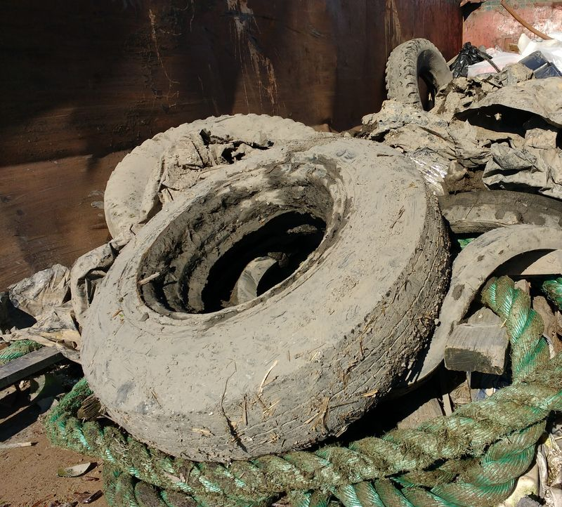 scrap tires disposal